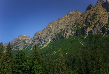 A beautiful Tatry mountain landscape