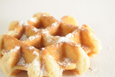liege: waffles de liege