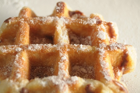 waffles de liege photo