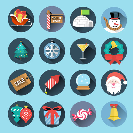 igloo: Christmas icons