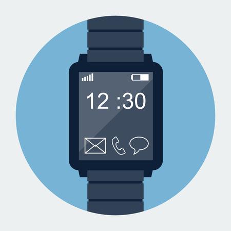 wrist watch: Smart watch icon