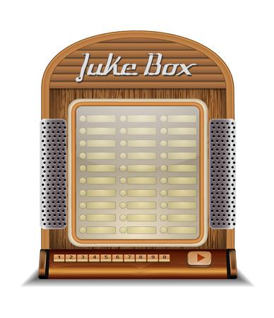Jukebox Stock Illustratie