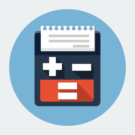 billing: Billing machine icon Illustration