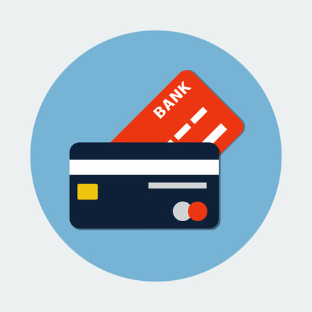 credit card payment: Bank Credit Card Icon