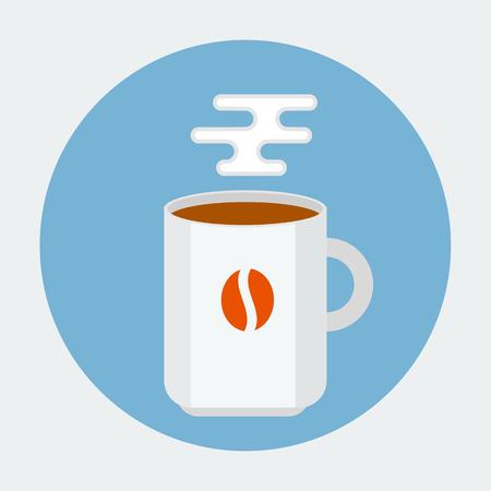 Coffee mug Stock Vector - 27843755