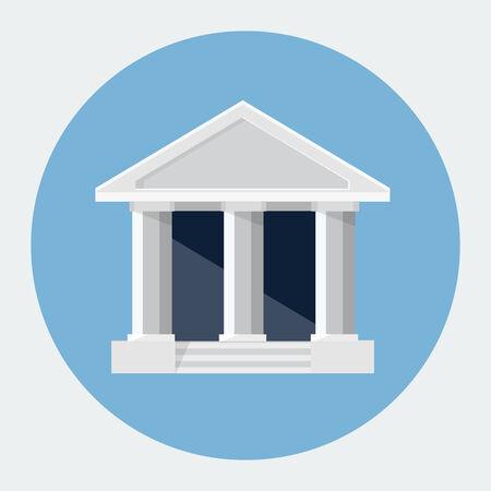 bank building: Bank Icon