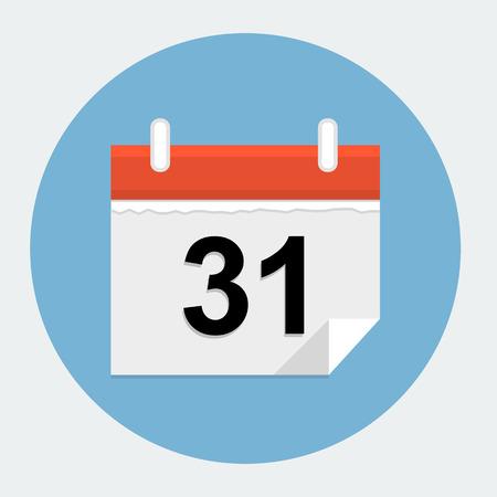 calendar isolated: Calendar icon Illustration