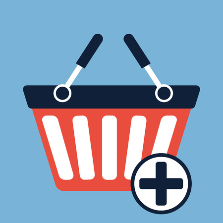 add to basket: Add to Basket icon Illustration