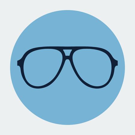 Vector sunglasses frame Vector