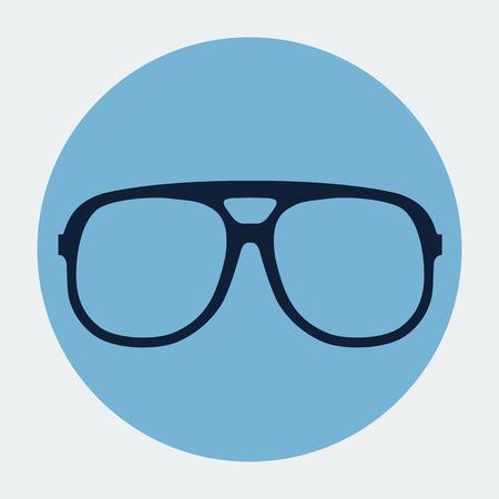 Vector glasses frame Vector