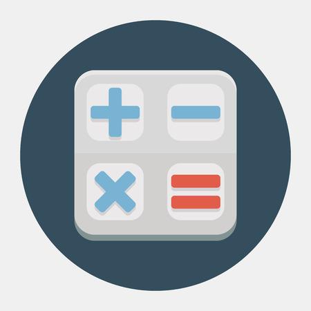 calculator icon: Vector calculator icon