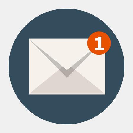 correo electronico: Vector icono de correo electr�nico