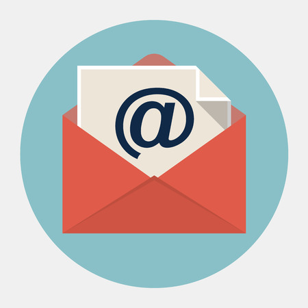 electronic mail: Vector e-mail icon