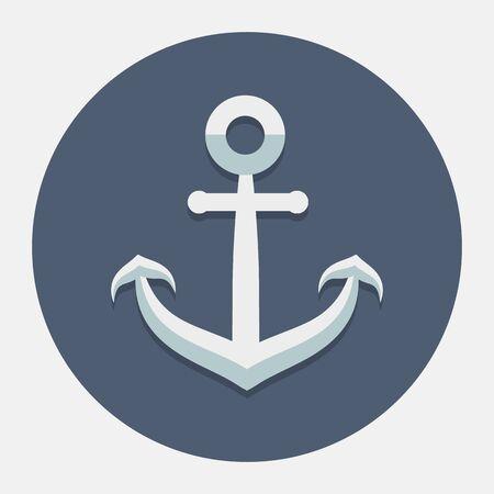 backlink: Vector anchor icon