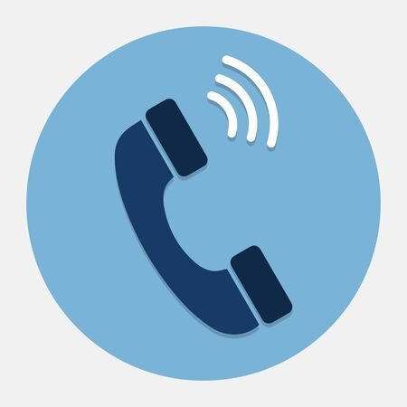 contact person: Vector phone icon