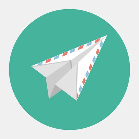 electronic mail: Vector mail icon