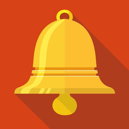 recess: Vector Bell icon, design element for mobile and web applications, eps 10 Illustration