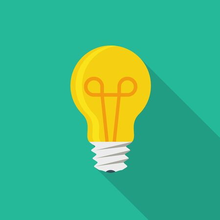 fluorescent lights: Light bulb icon