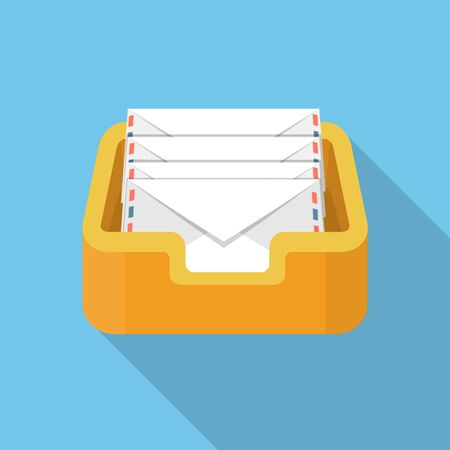 delivered: Vector mailbox icon