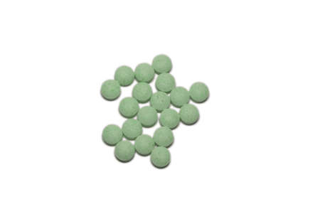 Green Pills Stock Photo - 2851123