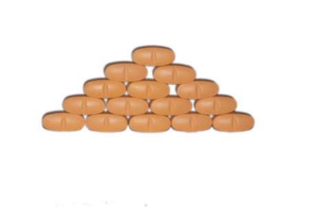 Piramide of pills Stock Photo - 2851130