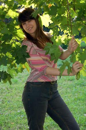 beautiful young woman Stock Photo - 602624