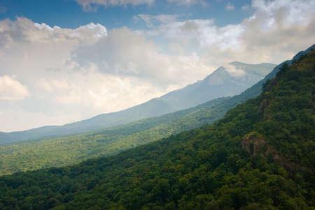 crimea: Summer mountain landscape in Crimea, Ukraine