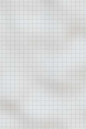 usual: Seamless texture of usual chequered notebook sheet