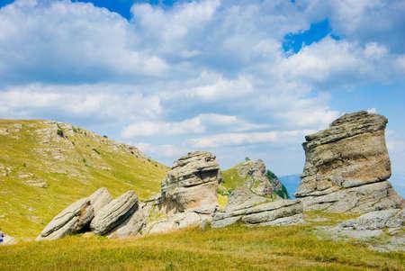stratification: Landmark - Ghost Valley, Demerdji, Crimea, Ukraine.