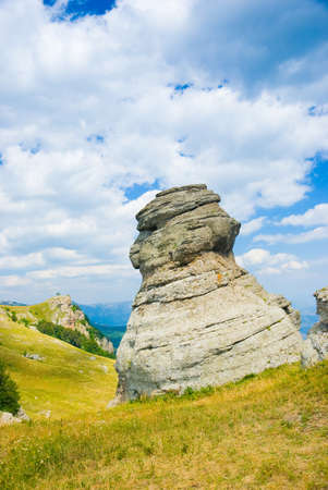 conglomeration: Landmark - Ghost Valley, Demerdji, Crimea, Ukraine.