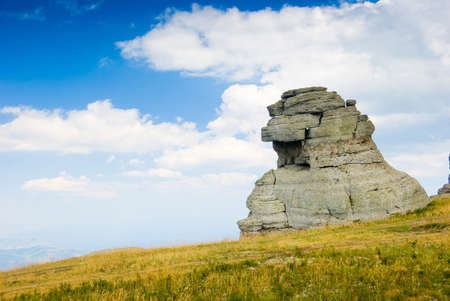 stratification: Landmark - Ghost Valley, Demerdji, Crimea, Ukraine.