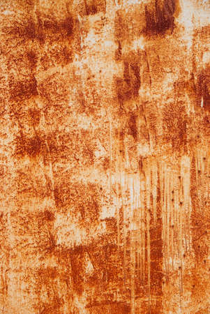 ramshackle: Rusty painted wall texture