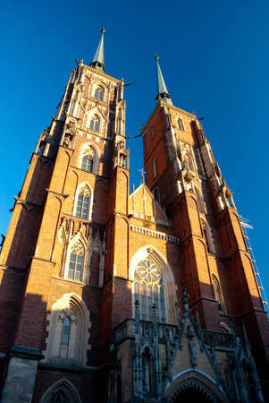 Cathedral of St. John the Baptist in Wroclaw, Poland Stock Photo - 6465243