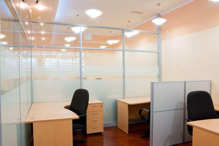 Modern office interior  - workplace Stock Photo