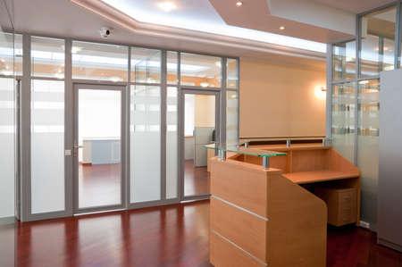 recepcion: Interior de la Oficina moderna - recepci�n y lugares de trabajo