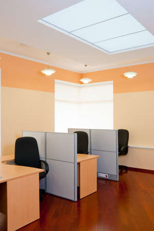 Modern office interior  - workplace Stock Photo - 7084052