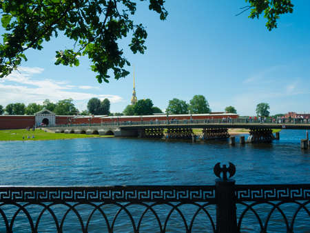 The Peter and Paul Fortress, St. Petersburg, Russia Stock Photo - 14740395
