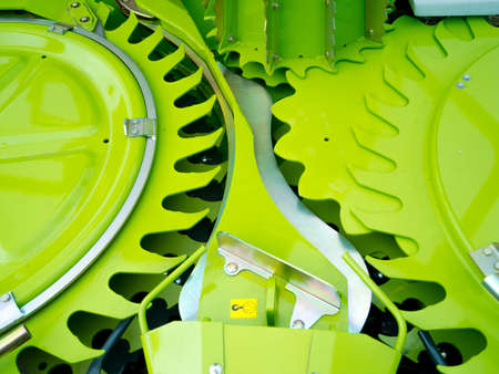 Part of new agronomic machine Stock Photo - 16086649