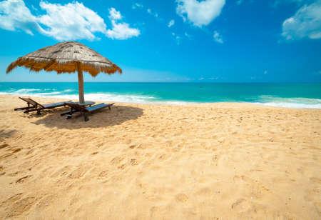 스리랑카에서 열 대 해변 스톡 콘텐츠