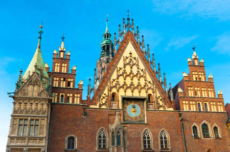 WROCLAW, POLAND - DECEMBER 29: Old city hall on December 29, 2012 in Wroclaw, Poland. The World Games 2017 will be hosted in Wrocław, It was chosen by the International World Games Association.
