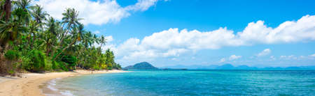 Tropical beach in Samui, Thailand