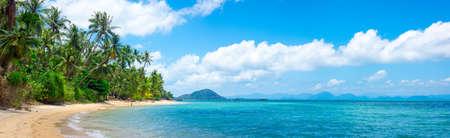 Tropical beach in Samui, Thailand