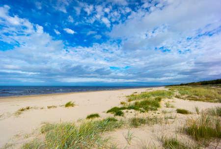 jurmala: Baltic sea coast in Jurmala, Latvia Stock Photo