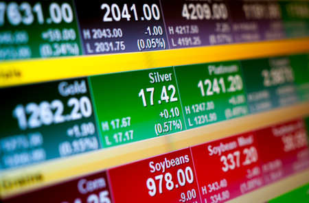 indices: Abstract background stock market indices Stock Photo