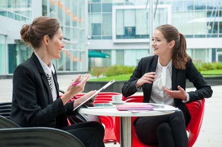 젊은 비즈니스 여성 취업 면접