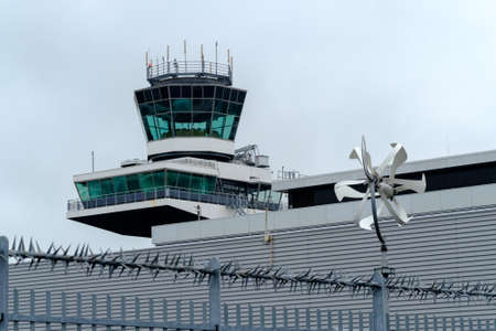 traffic controller: Tower at the international airport