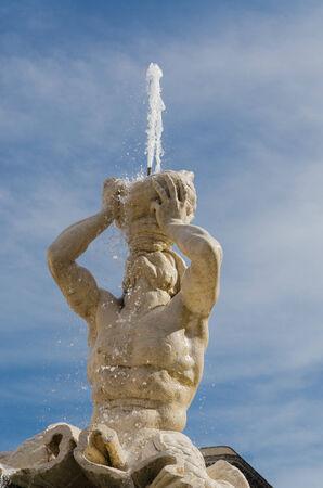 bernini: Triton Fountain, Gian Lorenzo Bernini, Barberini square, Rome