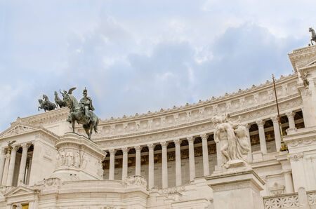National Monument to Victor Emmanuel II, Rome, Italy