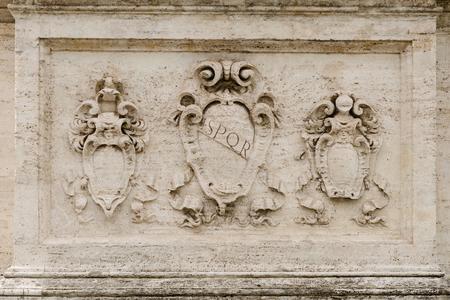 spqr: SPQR, antiguo bajorrelieve romano, fondo