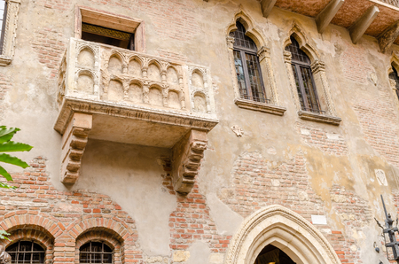 juliet s: Juliet39s balcony Verona Italy Stock Photo